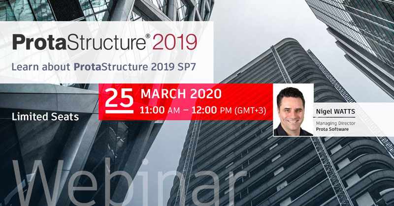 Learn about ProtaStructure 2019 SP7