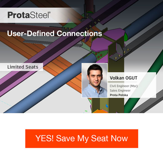 User-Defined Connections in ProtaSteel