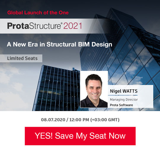 ProtaStructure 2021 Global Launch Webinar