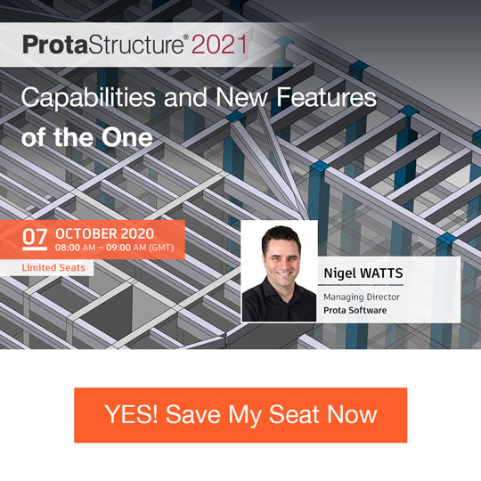 ProtaStructure 2021 - Capabilities and New Features of the One