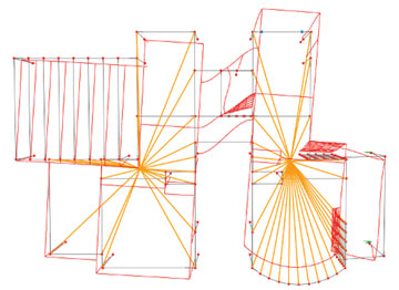 Diaphragm Modeling and Story Meshing 2