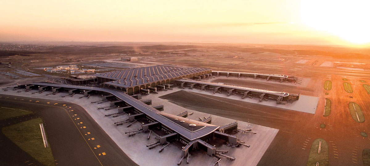 İstanbul New Airport Terminal Building Designed with ProtaStructure
